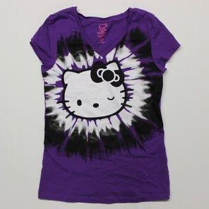 Girl's Hello Kitty Sleepwear Shirt - Purple
